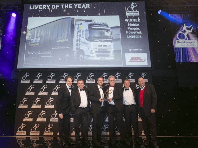 Mobile People.Powered.Logistics wins Motor Transport's Livery of the Year