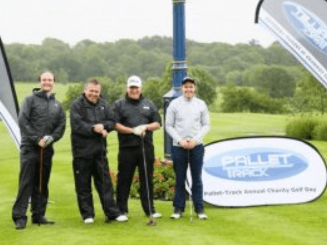 Pallet-Track Golfers in the Swing to Raise £9k for Charity