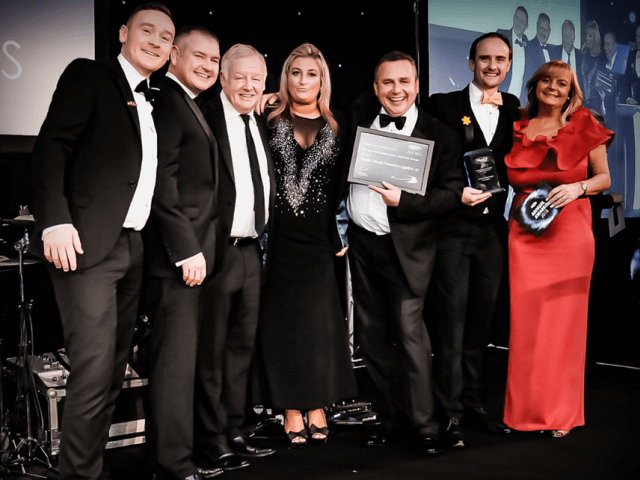 Mobile hits a Hat-Trick at Pallet Track Awards