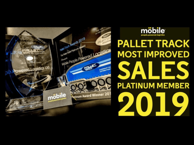 Double winners at Pallet Track Awards