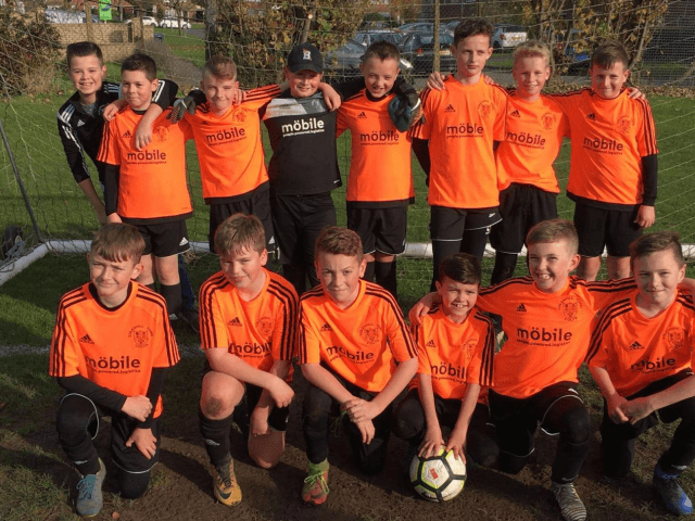Tango Orange for Coleshill Colts